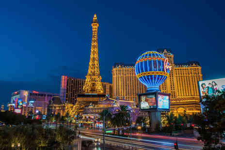 Great Pacific Travels - Seven nights Las Vegas and Los Angeles break with flights - Save 0%