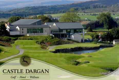 Castle Dargan Golf Hotel & Wellness Resort - Overnight Stay For Two With Breakfast, VIP Spa Passes Plus Golf or Spa Treatment for £99 - Save 63%