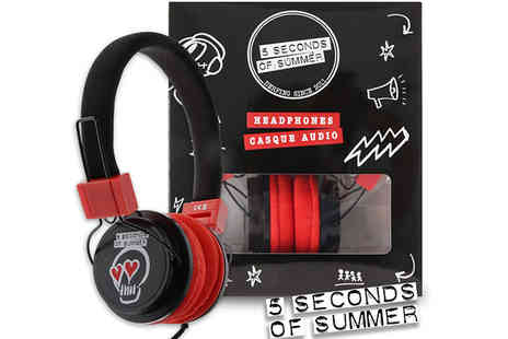 Dealberry - Official 5 Seconds of Summer Headphones - Save 46%