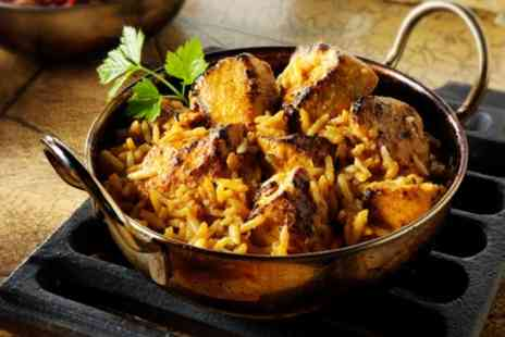 Curry Nation - Two Course Indian Meal with Rice and Naan for Two or Four - Save 34%