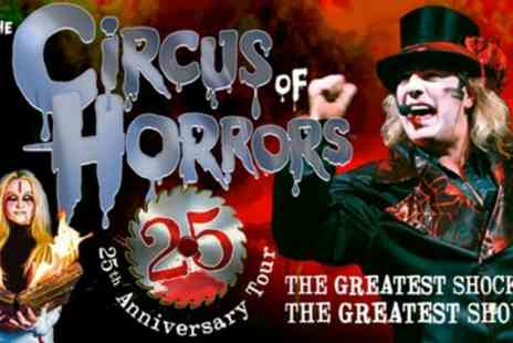 The Circus of Horrors - One general admission ticket from 9th January To 20th March - Save 45%
