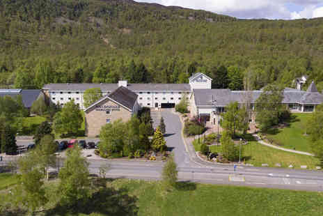 Macdonald Aviemore Resort Highlands Hotel - Overnight stay for two with breakfast, cinema tickets and late check out - Save 41%