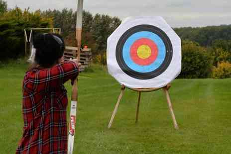 Thurlaston Airgun and Archery Centre - One hour archery experience for two people - Save 80%