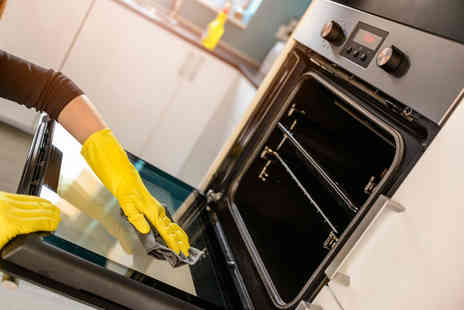 Maid in Bristol Cleaning Services - Eco friendly full oven clean on a single or double oven - Save 55%