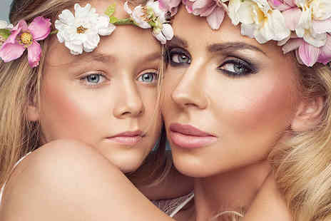 Flawless Studios - Mother and daughter makeover photoshoot using MAC products with two 7 Inch x 5 Inch prints - Save 87%