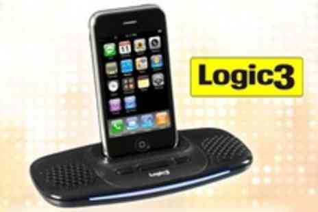 Logic3 - i Station Lite Speaker Dock For iPhone - Save 48%