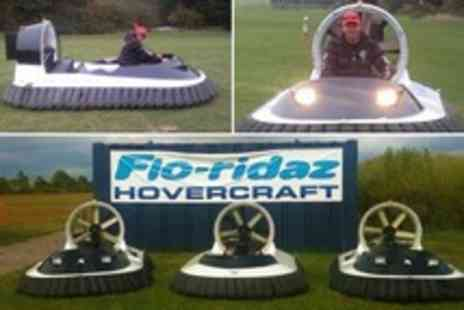 Flo Ridaz - Hovercraft Driving Session For Two Plus Five Laps Each - Save 52%