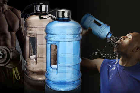 Secret Storz - 2.2L big water bottle choose from six colours - Save 65%