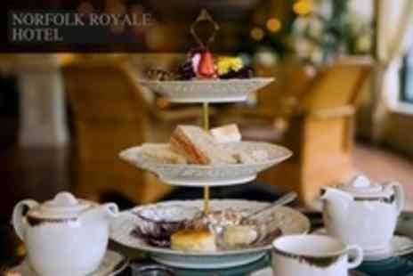 The Norfolk Royale Hotel - Chocolate Afternoon Tea For Two With Champagne - Save 52%