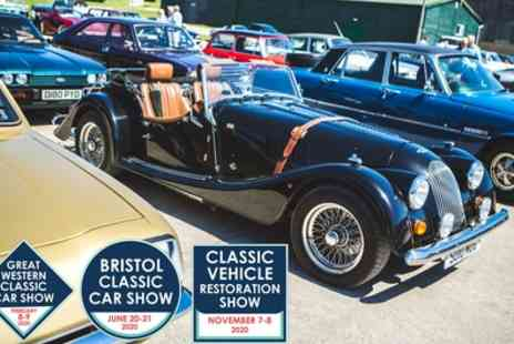 Bristol Classic Car Shows 2020 - Two tickets from 8th February To 8th November - Save 43%