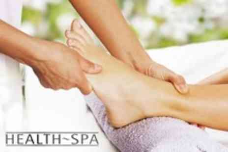 The Health Spa - Reflexology Massage with Indian Head Massage - Save 52%