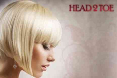 Head 2 Toe - Highlights or Full Head of Colour With Cut, Conditioning Treatment, and Finish - Save 65%