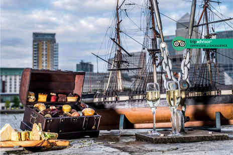 Doubletree by Hilton Docklands - Pirate themed afternoon tea for two people with bottomless bubbly or Caribbean rum punch - Save 0%