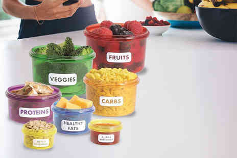 London Exchain Store - 14 Piece Portion Control Container Set - Save 80%