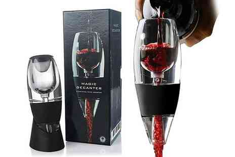 ViVo Technologies - Red wine aerator decanter with stand - Save 76%
