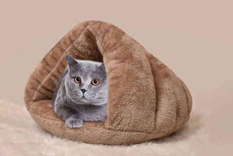 Litnfleek - Small cosy pet cave bed - Save 75%