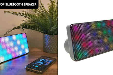 Garden & Camping - Desktop Wireless Bluetooth Speakers Choose from 6 Designs - Save 47%