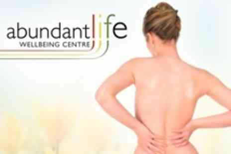 Abundant Life - Chiropractic Consultation With Myovision Scan and Workshop - Save 73%