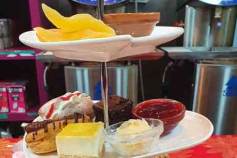 Dr Chocs Windsor Chocolate Factory - Valentines Chocolate Afternoon Tea with Optional Glass of Prosecco for Two - Save 0%