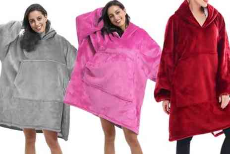 Groupon Goods Global GmbH - Oversized Blanket Hoodie - Save 58%