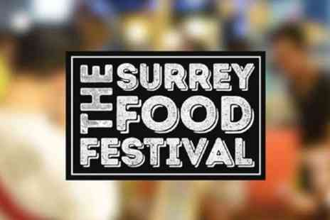 The Surrey Food Festival - Two or family weekend ticket from 25th To 26th April - Save 51%