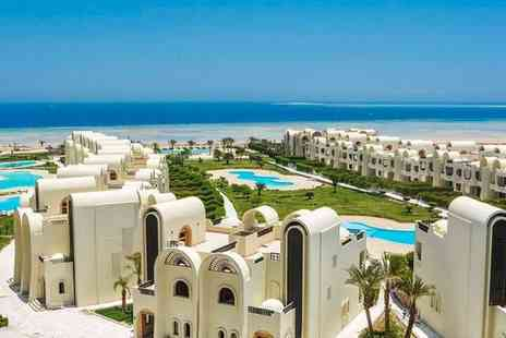 Gravity Sahl Hasheesh Resort - Five Star Stylish All Inclusive Beachfront Retreat with Optional Cruise Extension for two - Save 42%