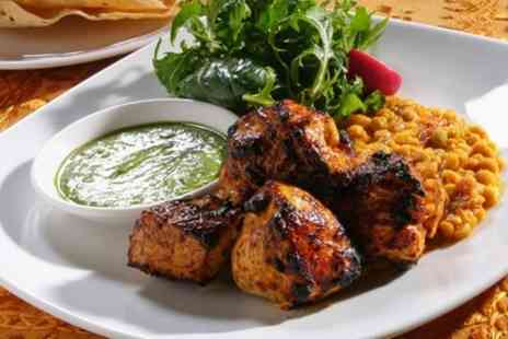 Zulaika Indian Restaurant - Two Course Meal with Side and Drink for Two or Four - Save 55%