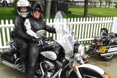 Virgin Experience Days - Genuine USA Police Harley Davidson Half Day Pillion Ride - Save 0%
