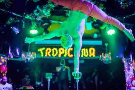 Virgin Experience Days - The Tropicana Cabaret Show with Three Course Dinner and Cocktail for Two - Save 0%