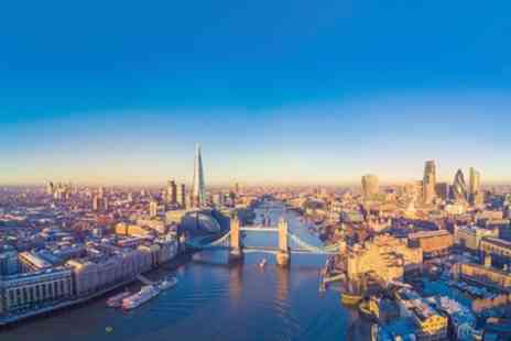 London Breaks - 1 or 2 Nights with Hotel Accommodation, Breakfast, View from The Shard and Sightseeing River Cruise - Save 0%