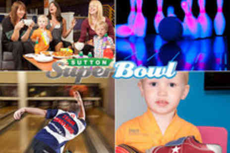 Sutton Superbowl - Bowling with Hot Dog and Soft Drink - Save 66%