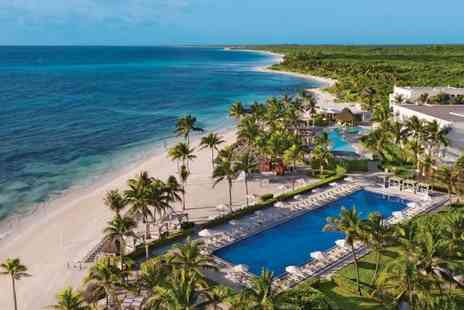 Dreams Tulum Resort & Spa - Four Star Sun Soaked All Inclusive Retreat with Optional Cultural Tour - Save 0%