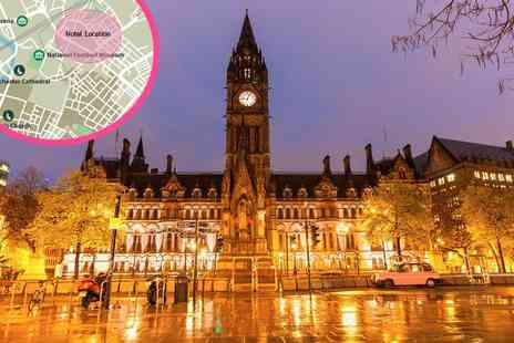 Crowne Plaza Manchester - Four Star Mystery Manchester city centre overnight stay for two people with breakfast and a drink on arrival - Save 35%
