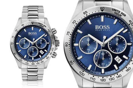 Best Watch Company - Mens Hugo Boss HB1513755 sport lux stainless steel watch - Save 67%