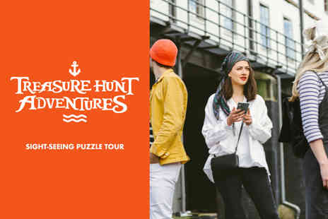 Treasure Hunt Adventures - City treasure hunt for two people - Save 50%
