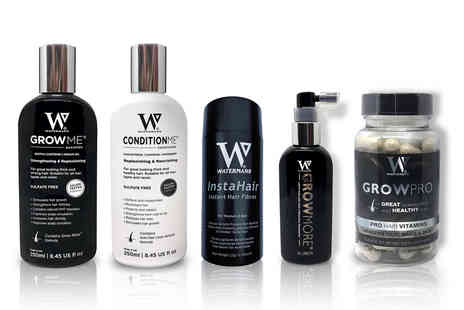 Watermans - Range of hair growth products - Save 31%
