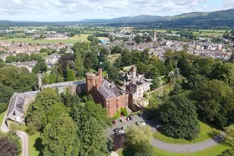 Ruthin Castle Hotel - Spa day for two people with a 55 minute treatment, glass of Prosecco and an afternoon tea - Save 0%