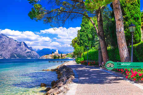 Via Holidays - Escape with a Two Three or Four nights getaway to Lake Garda Now with the ability to choose your flights - Save 24%
