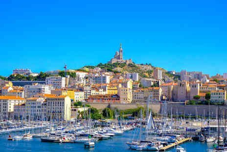 Travel Center - Escape with a Two Three or Four nights getaway to Marseille Now with the ability to choose your flights - Save 24%