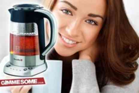 Gimmesome.co.uk - Breville stainless steel and glass tea maker - Save 67%
