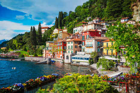 Super Escapes Travel - Two nights Lake Como holiday with return flights - Save 28%