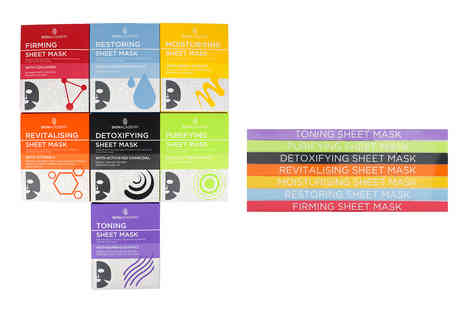 Avant Garde - Seven pack Skin Academy sheet mask collection - Save 62%