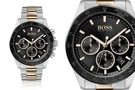 Best Watch Company - Hugo Boss mens Hero Sport Lux two tone watch - Save 68%