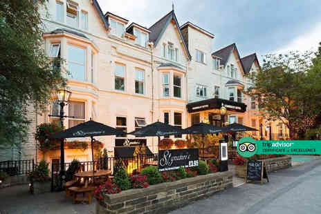 The Kimberley Hotel - Overnight Harrogate stay for two with breakfast, three course dining, a glass of Prosecco each and chocolates - Save 40%