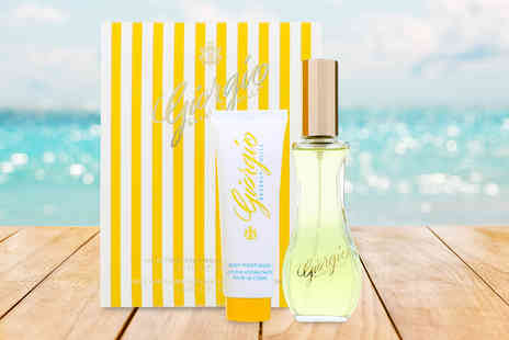 Wowcher Direct - Giorgio Beverly Hills Yellow eau de toilette and body lotion gift set - Save 54%