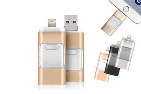 MBLogic - 3 in 1 Usb flash drive Choose from three sizes - Save 0%