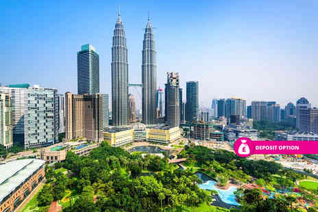 Weekender Breaks - Four Star 10 nights Kuala Lumpar city break and Penang beach escape with flights and internal transfers - Save 25%