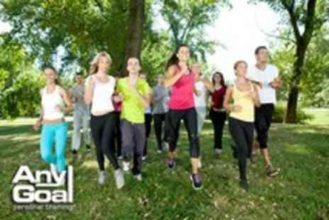 Any Goal Personal Training - Six week unlimited boot camp course including a nutritional guide - Save 80%