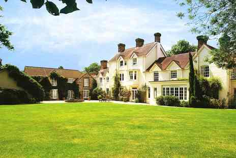Esseborne Manor Hotel - Hampshire manor getaway including dinner and more - Save 40%