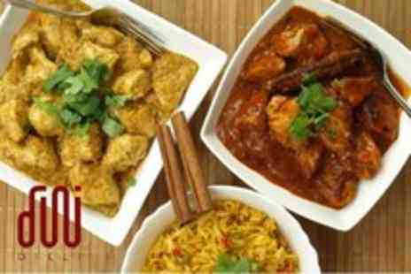 Dilli - 2 1/2 hour Indian cookery course - Save 60%
